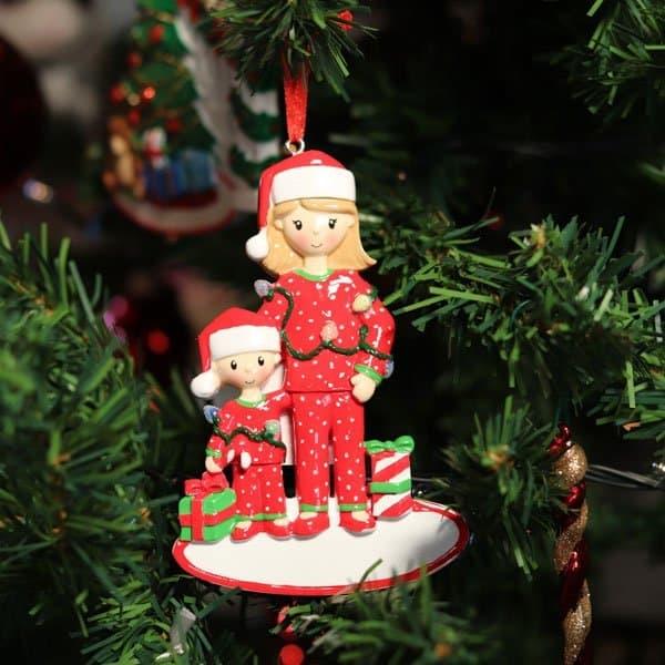 """Addobbo natalizio personalizzabile """"Amore di mamma"""""""