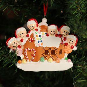 """Addobbo natalizio personalizzabile """"Una casetta di birbanti"""""""
