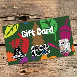 Gift Card da 100 € per Wonderwood, Grotto Carza e La Casetta delle Ragazze Ribelli