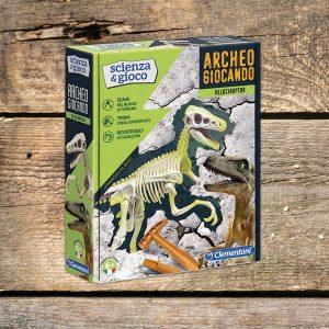 """Gioco istruttivo per bambini """"Archeo giocando - Triceratops"""""""