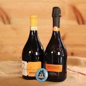 Prosecco e vino del Grotto Carza