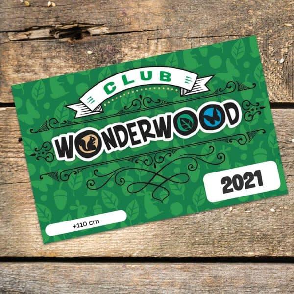 WonderClub 2021 da 110 cm a Wonderwood