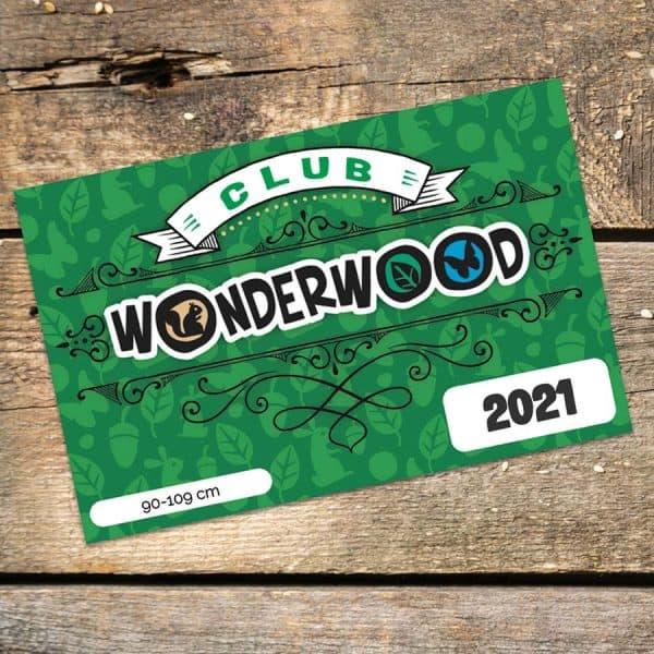 WonderClub 2021 da 90-109 cm a Wonderwood