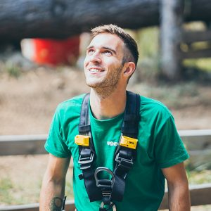 Edoardo, istruttore parco avventura Wonderwood