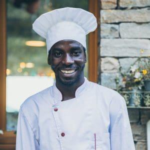 Alkalos, aiuto chef del Grotto Carza