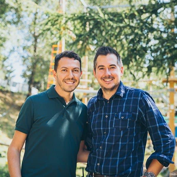 Max e Seby, Founder di Wonderwood