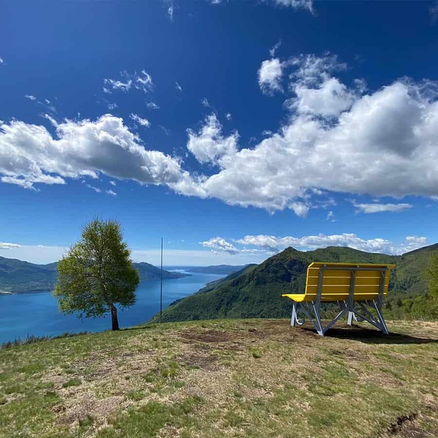 Big Bench Lago MaggioreMonte Carza