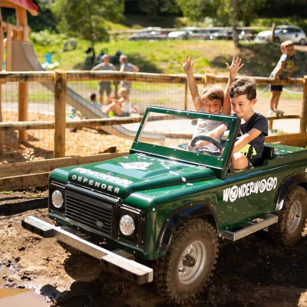 Mini Jeep Wonderwood